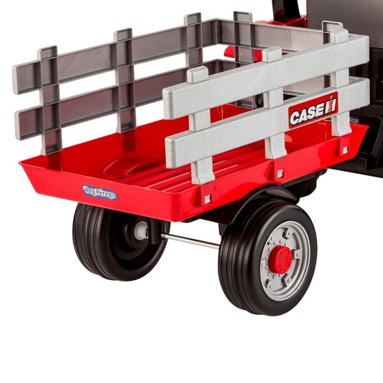 Peg Perego Case IH Tractor and Trailer - Red image number null