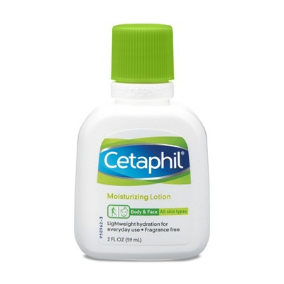 Cetaphil Body & Face Moisturizing Lotion Unscented - 2oz
