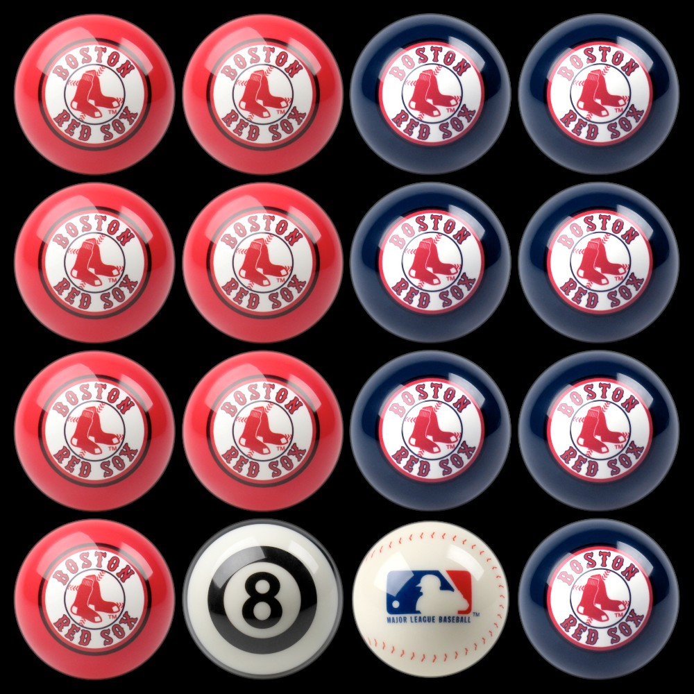Boston Red Sox Imperial Home vs. Away Billiards Ball Set