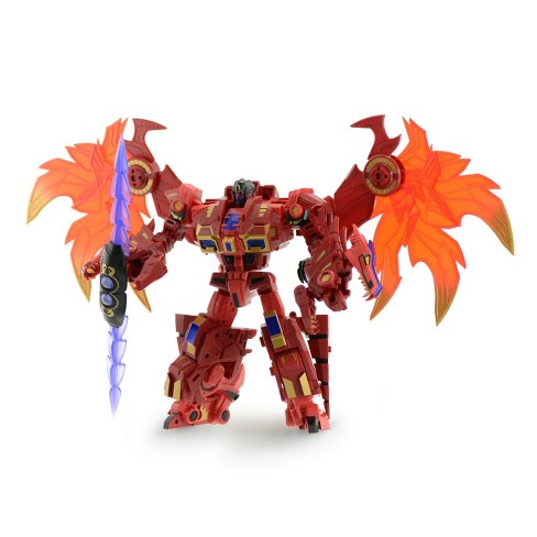 Fans Hobby - Master Builder - MB-03B - Red Dragon Action Figures - image 1 of 5