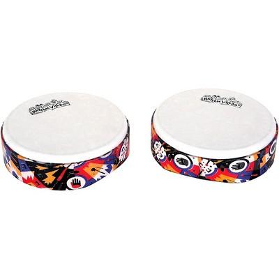 Rhythm Tech Rhythm Village Benkadi Club Series 6 in. Hand Drum 7 x 2 in. Benkadi Burst
