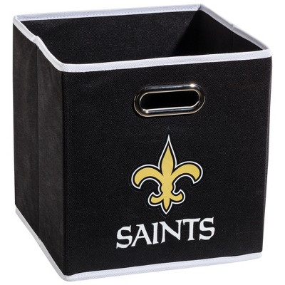New Orleans Saints Franklin Sports Collapsible Storage Bin