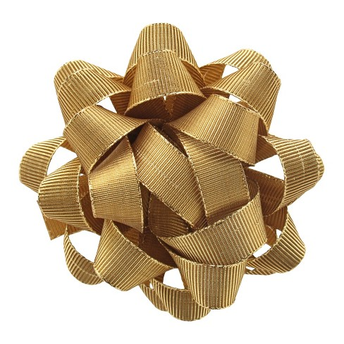 Premium Gift Wrap Bow Gold Lame - Wondershop™ - image 1 of 1