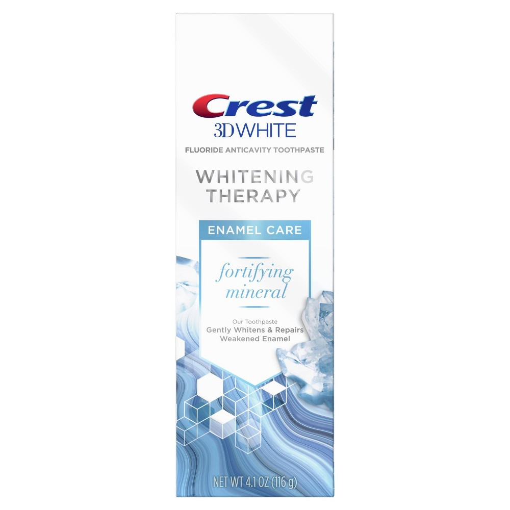 Image of Crest 3D White Whitening Therapy Enamel Care Fluoride Toothpaste - 4.1oz