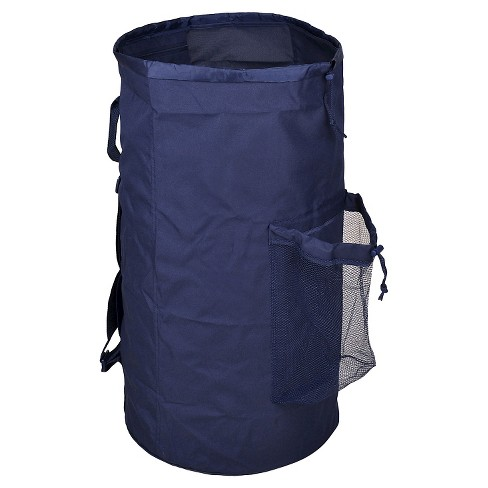 Laundry Bag with Pocket - Navy - Room Essentials™ - image 1 of 4