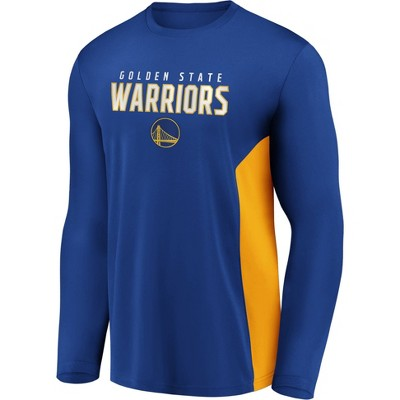 NBA Golden State Warriors Men's Synthetic Long Sleeve T-Shirt