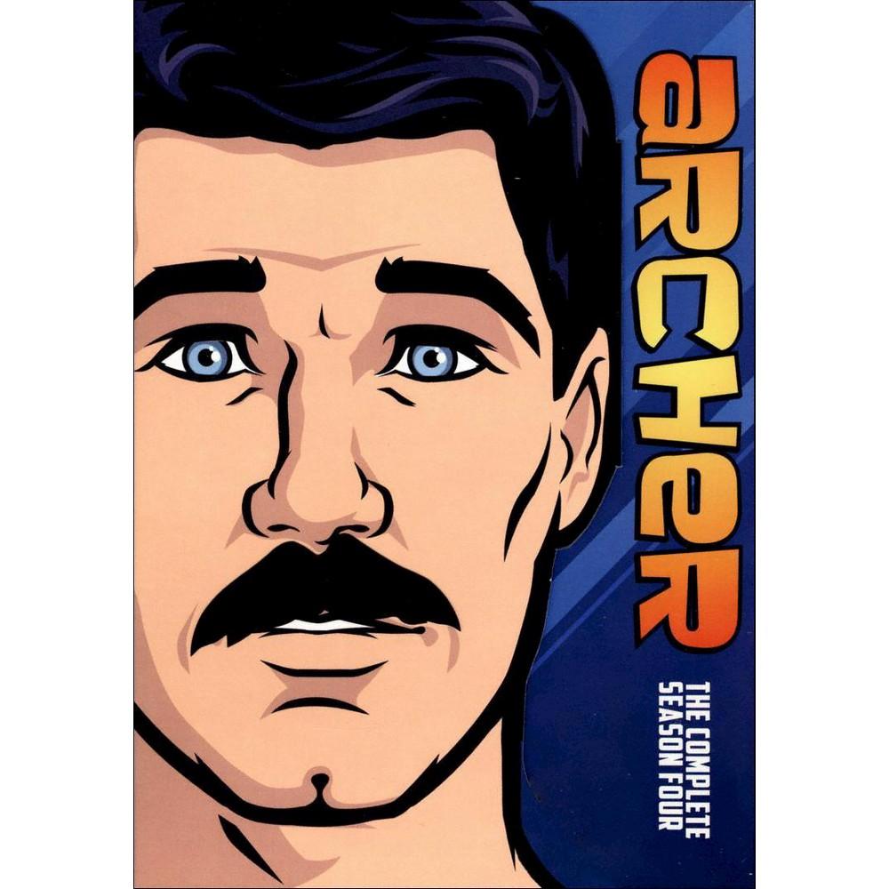 Archer The Complete Fourth Season Dvd
