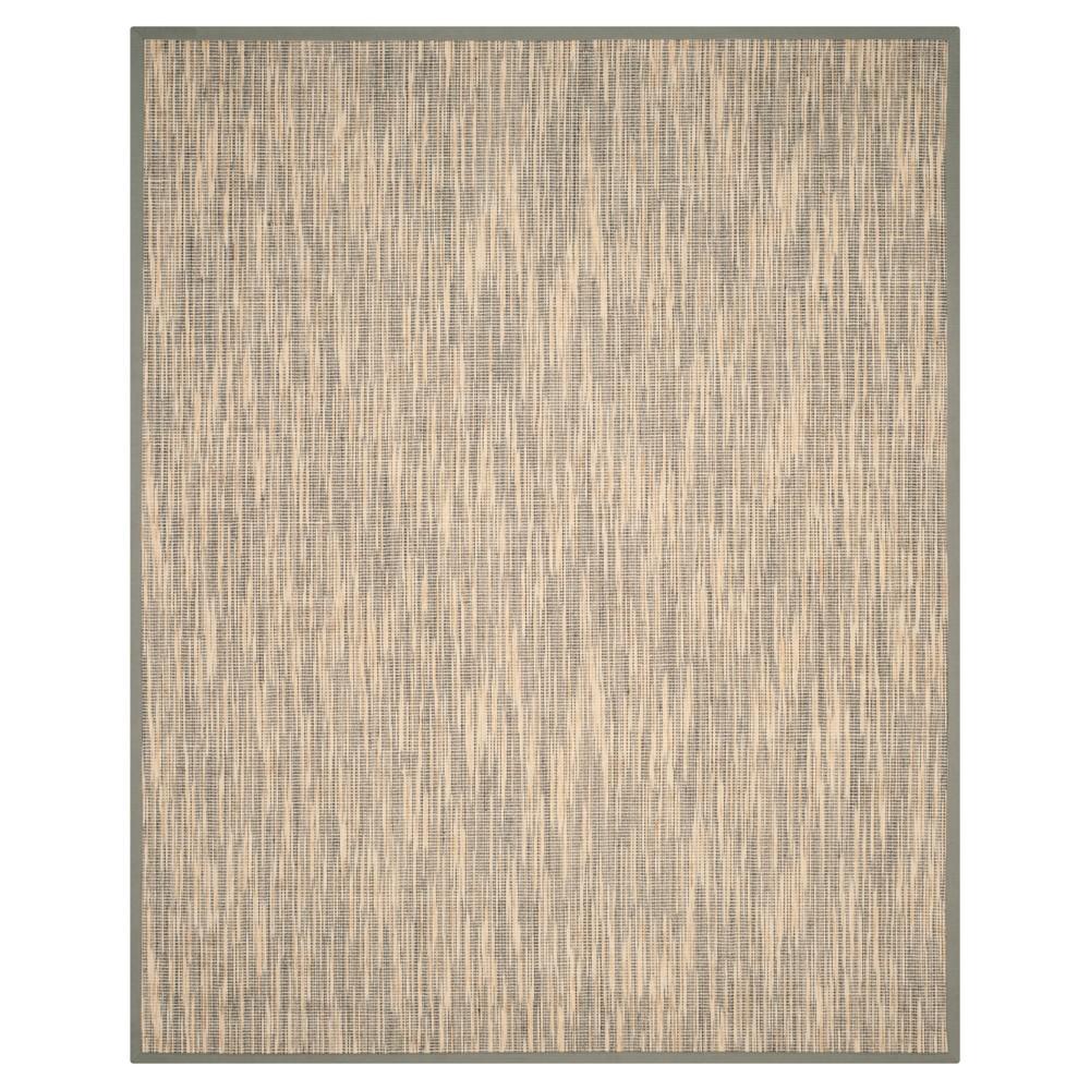 Natural Fiber Rug - Natural/Gray - (8'x10') - Safavieh