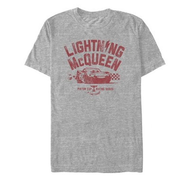 Men's Cars Lightning McQueen Piston Cup T-Shirt