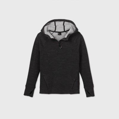 Girls' Shine Stripe Cozy Fleece Hoodie Sweatshirt - All in Motion™