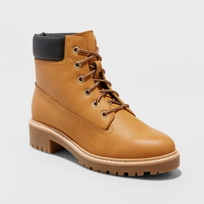 Womens Beccalynn Lace Up Utility Winter Boots - Mossimo Supply Co.™ Tan 8