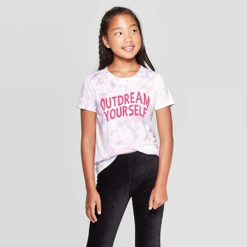 Girls' Tie Dye T-Shirt - art class™ - image 1 of 3