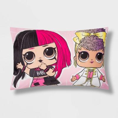 L.O.L. Surprise! Remix Rock Star Girls' Pillowcase