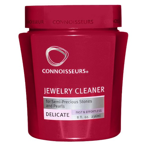 Connoisseurs Delicate Jewelry Cleaner, Pink/Black/White