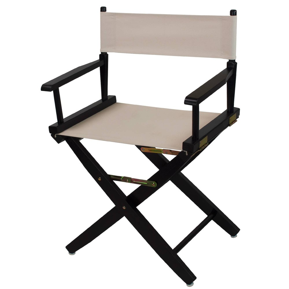 """Image of """"18"""""""" Extra Wide Directors Chair Natural - Flora Home"""""""
