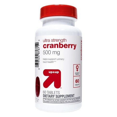 Cranberry Dietary Supplement Tablets - 60ct - Up&Up™ - image 1 of 2