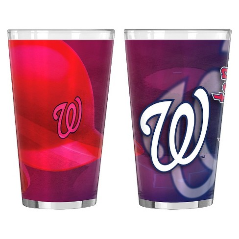 Boelter Brands MLB Washington Nationals Set of 2 Shadow Pint Glass - 16oz - image 1 of 1