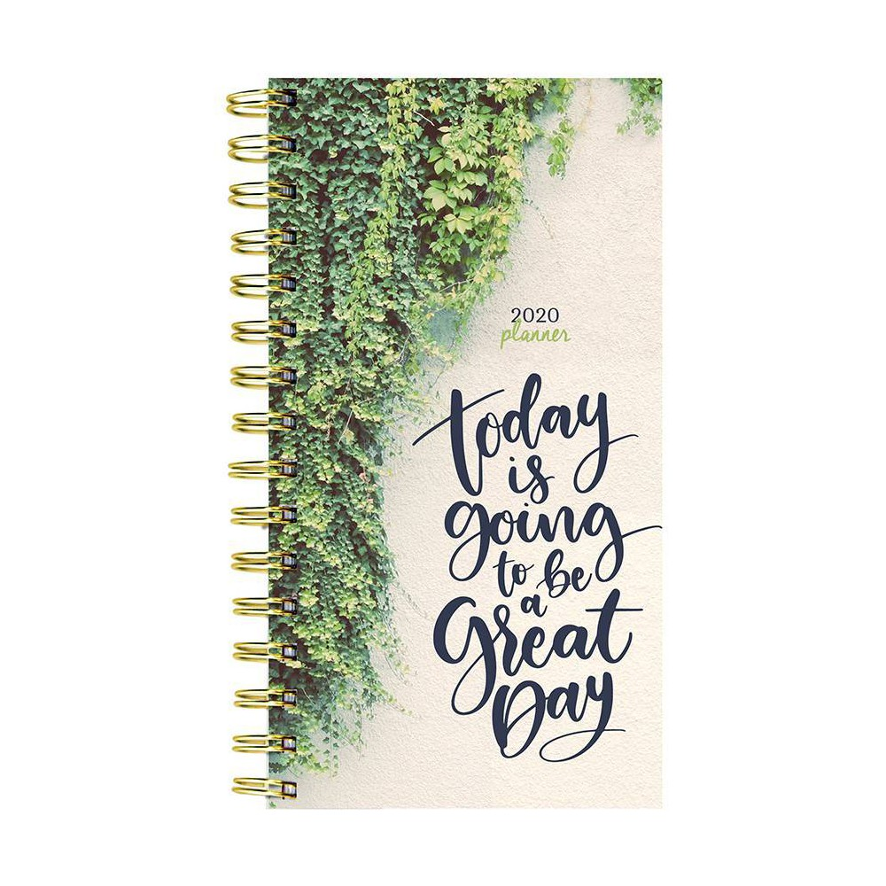 """Image of """"2020 Planner 6.5"""""""" x 3.8"""""""" Green Day"""""""
