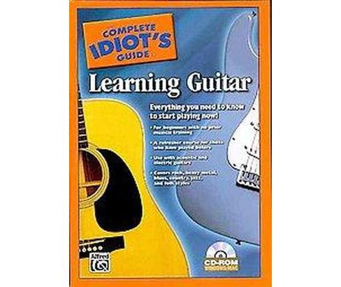 The Complete Idiot's Guide to Learning Guitar (CD-ROM) - image 1 of 1