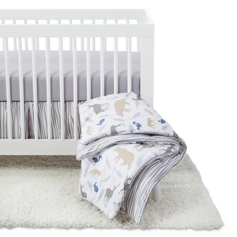 Sweet Jojo Designs Crib Bedding Set Woodland Animals 11pc