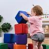 ECR4Kids SoftZone Patchwork Toddler Blocks-Foam Building Blocks for Safe Active Play, 12pk - image 4 of 4