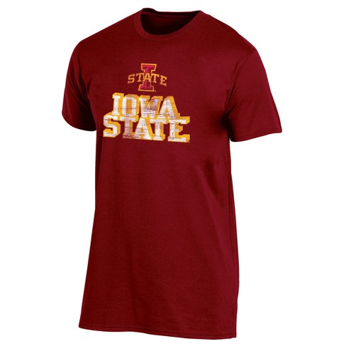 Iowa State Cyclones Men's Short Sleeve Keep the Lights On Bi-Blend Gray Heathered T-Shirt - image 1 of 2