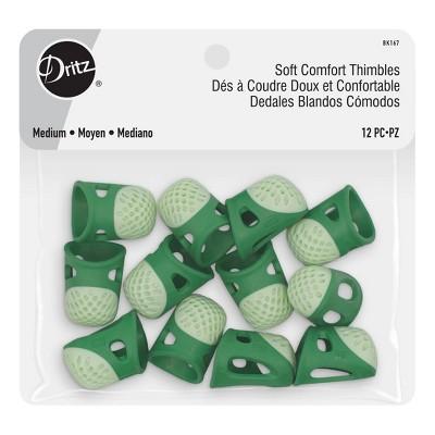 Dritz 12ct Soft Comfort Medium Thimbles