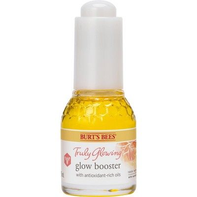 Burt's Bees Truly Glowing Glow Booster Facial Oil - 0.51 fl oz