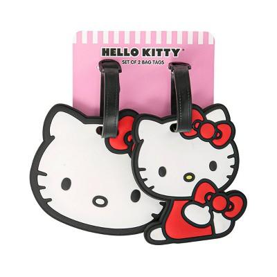 Sanrio Hello Kitty Rubber Luggage Tag Set