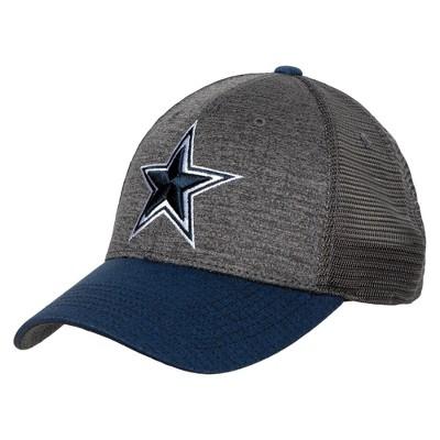 NFL Dallas Cowboys Men's Gray Sedges Hat
