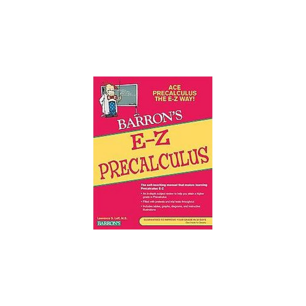 Barron's E-Z Precalculus (Paperback) (Lawrence S. Leff)