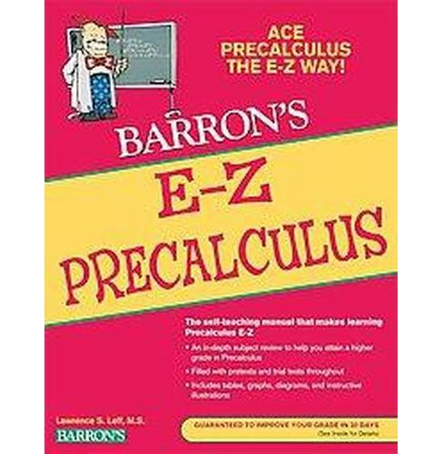 Barron's E-Z Precalculus (Paperback) (Lawrence S. Leff) - image 1 of 1