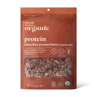Chocolate Peanut Butter Protein Granola - 11oz - Good & Gather™