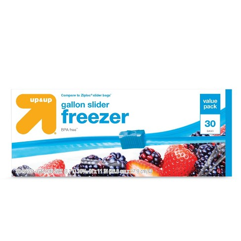 Slider Gallon Freezer Bags 30ct - Up&Up™ - image 1 of 1