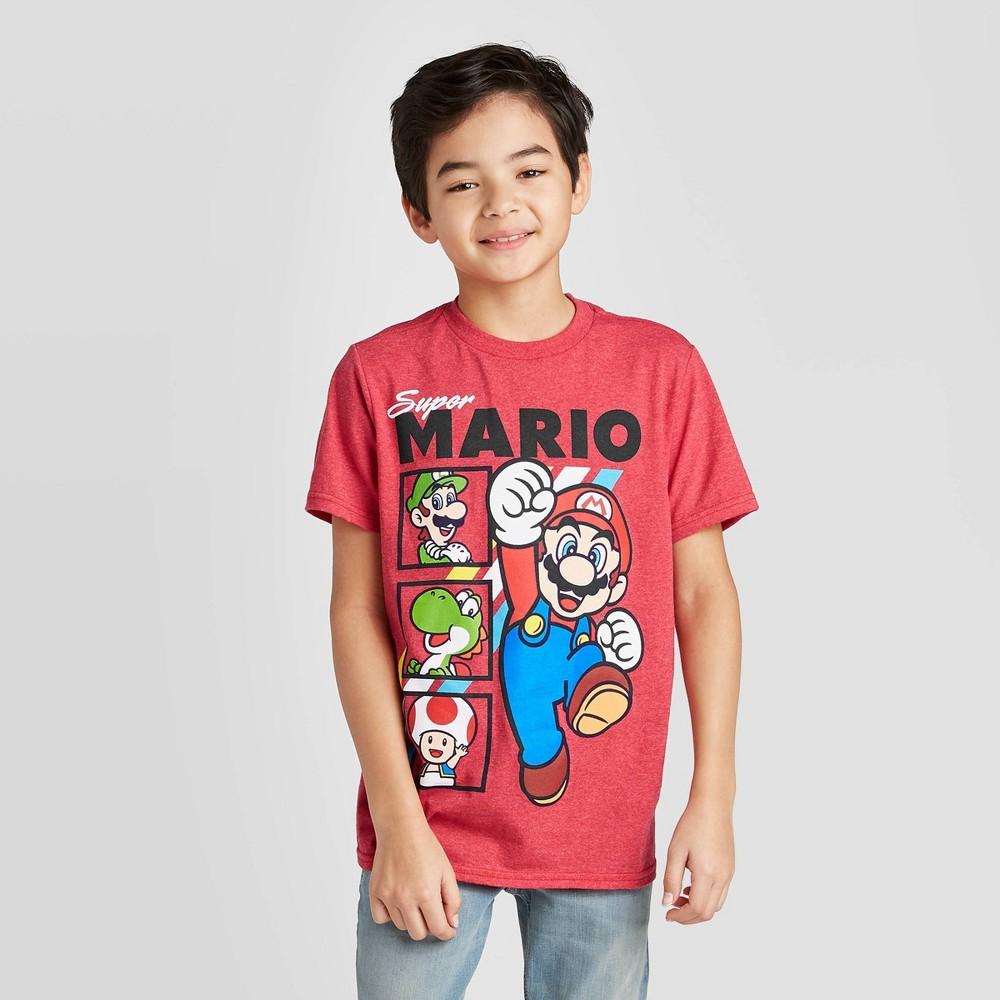 Boys 39 Mario Short Seeve T Shirt