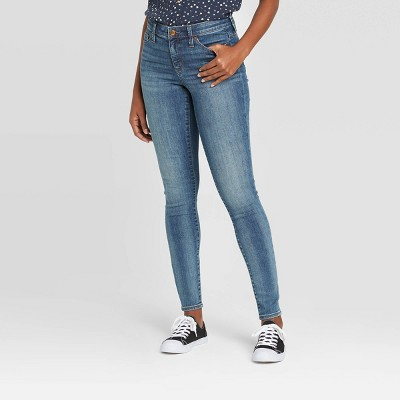 Women's High-Rise Skinny Jeans - Universal Thread™ Dark Wash