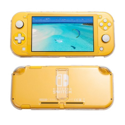 Insten Protective Case with Stand for Nintendo Switch Lite - Shockproof & Anti-Scratch Protective Cover Accessories, Clear
