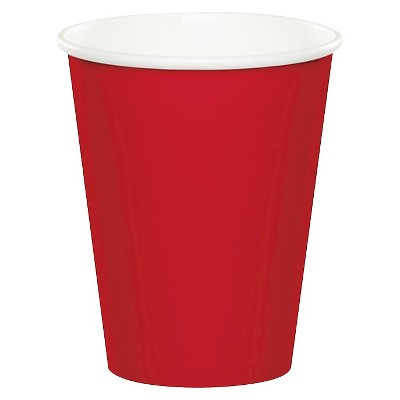 24ct Classic Red Disposable Cups