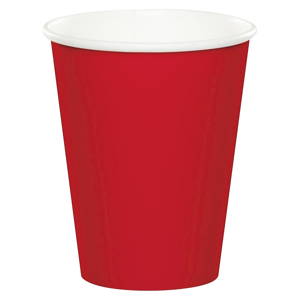 24ct Classic Red Disposable Cups Buy