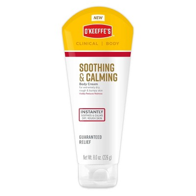 Body Lotions: O'Keeffe's Soothing & Calming Body Cream