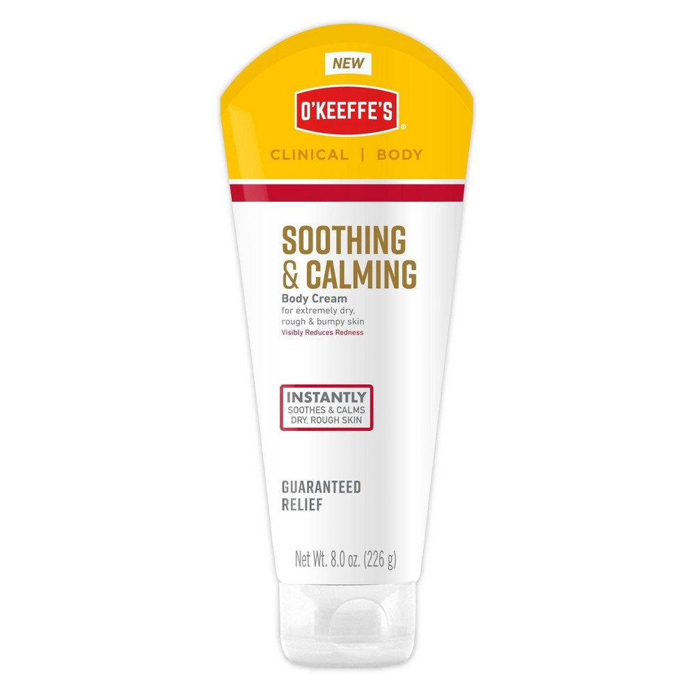 Image of O'Keeffe's Soothing & Calming Body Cream - 8oz