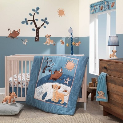 Lambs & Ivy Lion King Adventure Baby Crib Bedding Set - 3pc
