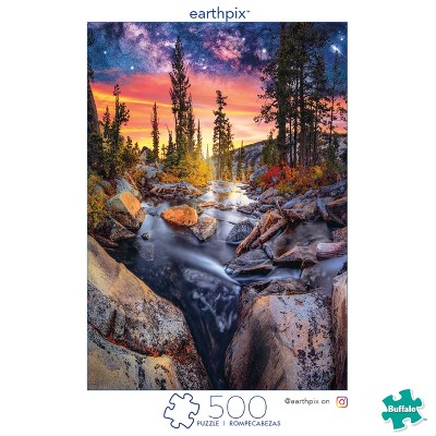 Buffalo Games EarthPix 500pc  Forest Magic Hour  Puzzle Asst.