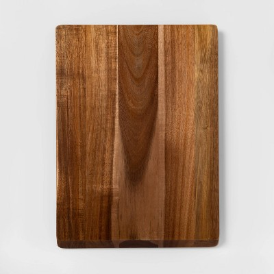 "13""x18"" Acacia Wood Nonslip Serving and Cutting Board - Made By Design™"