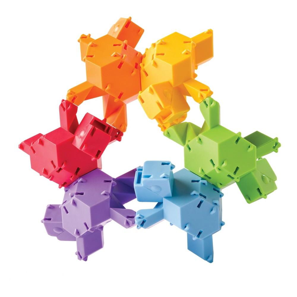 Fat Brain Toys Reptangles Geometric Construction Set - 24pc