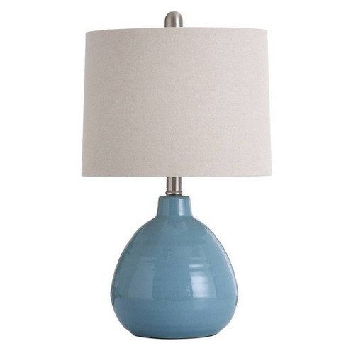 Seaside Storm Ceramic Table Lamp Aqua  - StyleCraft - image 1 of 1