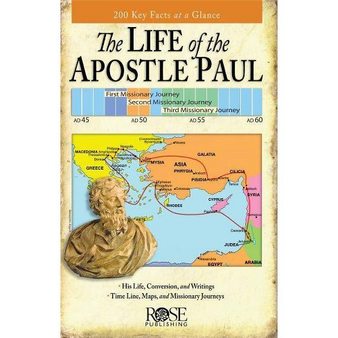 Life of the Apostle Paul Pamphlet - by  Rose Publishing (Paperback) - image 1 of 1