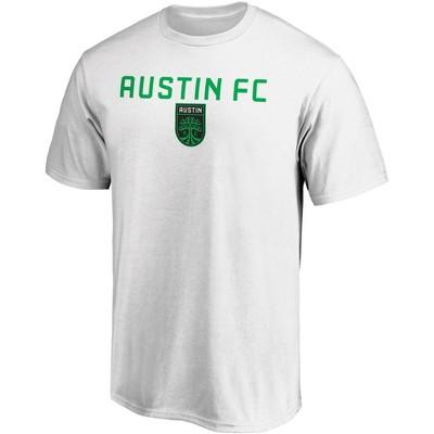 MLS Austin FC Men's Short Sleeve Crew Neck Core T-Shirt