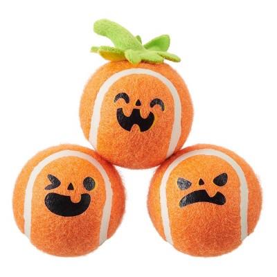 BARK Gnashing Pumpkins Dog Toy - Orange