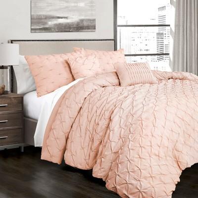Ravello Pintuck Comforter Set - Lush Décor